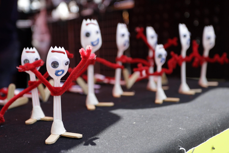 Forky de Toy Story 4 llega a la feria del Carmen