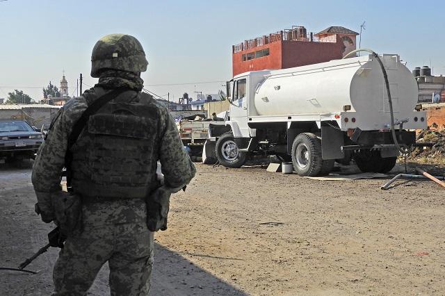 Cada 12 horas ordeñan en Puebla un ducto de gas: Pemex