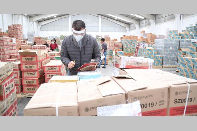 Entregarán en Puebla más de 9 millones de libros de texto gratuitos
