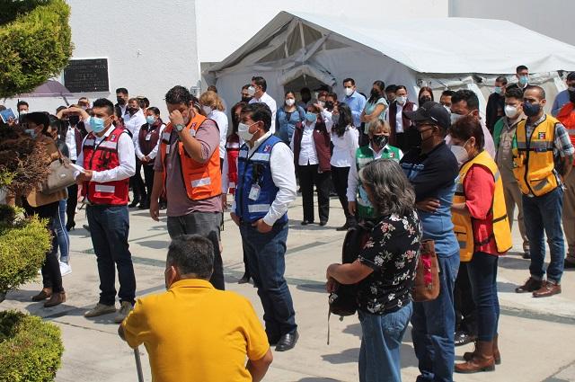 Participa SEP en el Primer Simulacro Nacional 2021