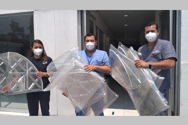 Anáhuac Puebla y Santander responden juntos a necesidades por Covid- 19