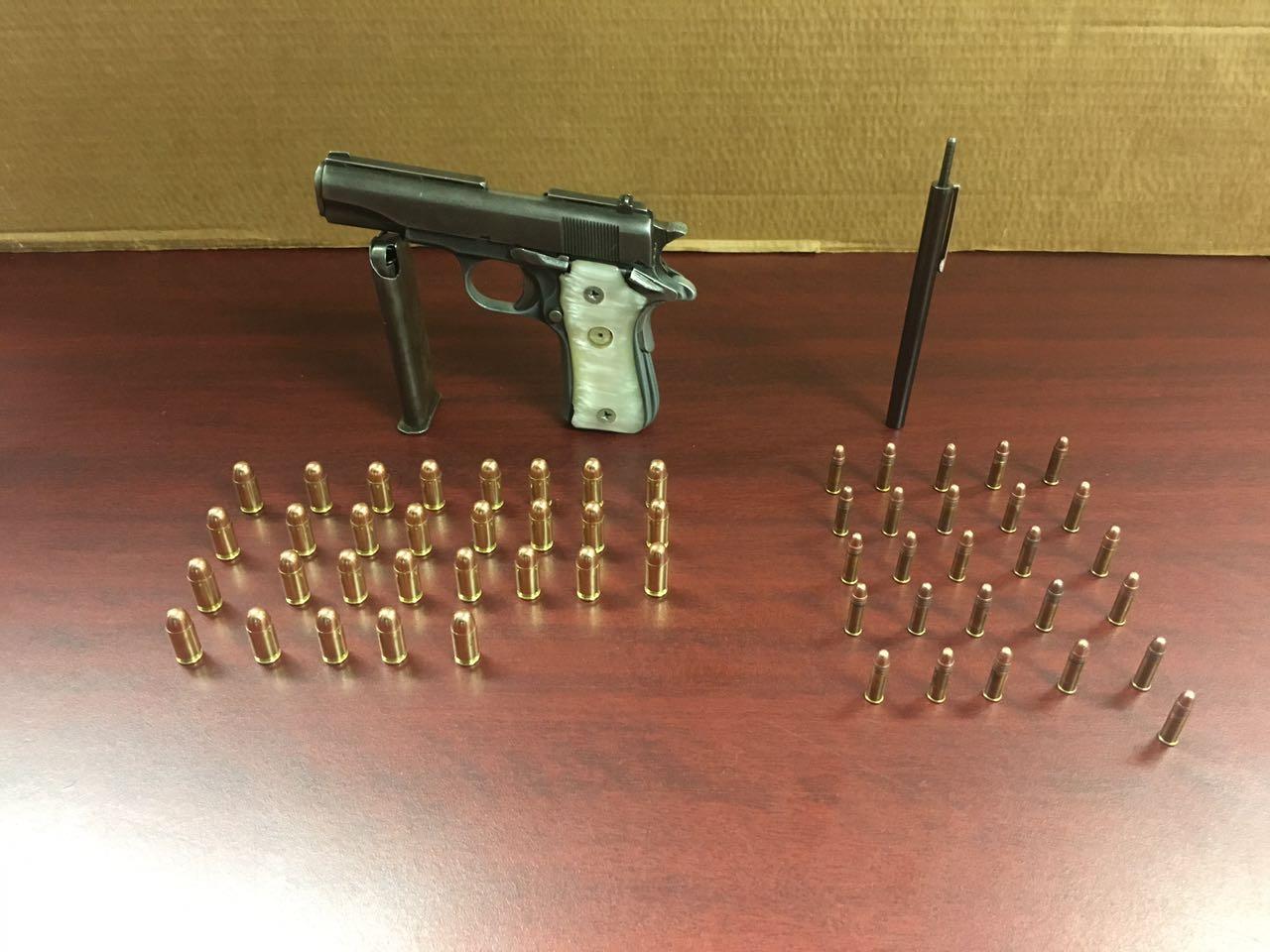 SSP aseguró a 6 hombres que portaban armas de fuego sin licencia