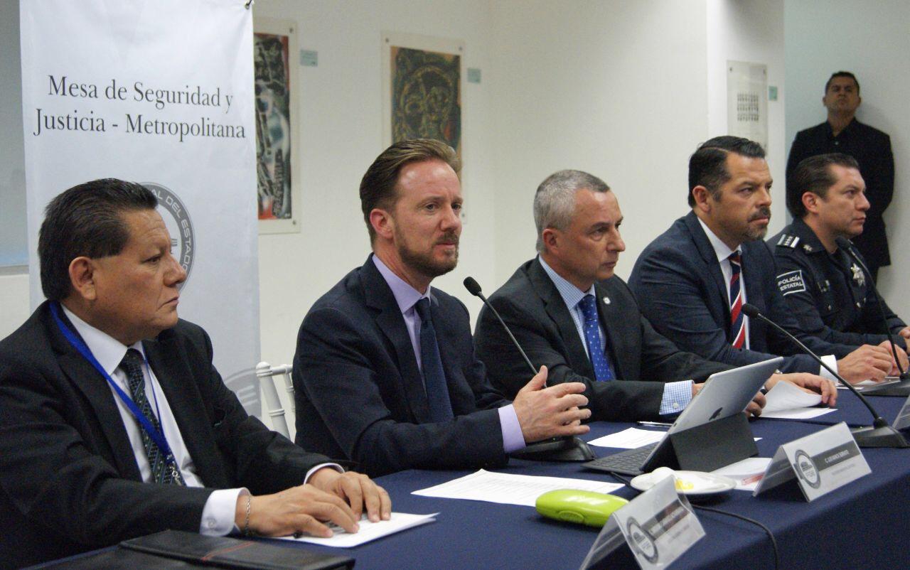 Autoridades de la zona Metropolitana fortalecen planes de seguridad