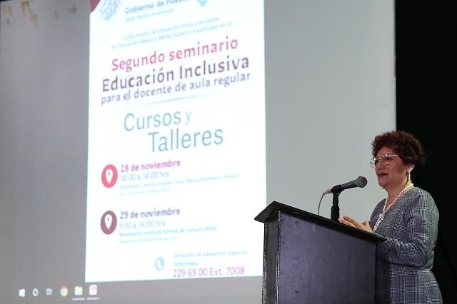 En la SEP, segundo seminario de educación inclusiva