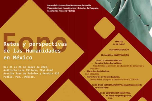 En la BUAP, foro sobre retos de las humanidades en México