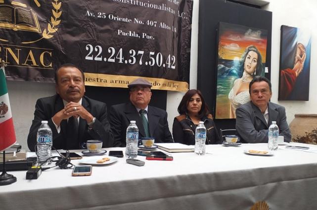 Diputados, los responsables de la polarización en el estado: abogados