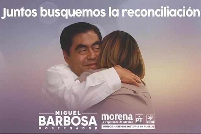 Barbosa llama a la reconciliación y a los abrazos, no a los tuitazos