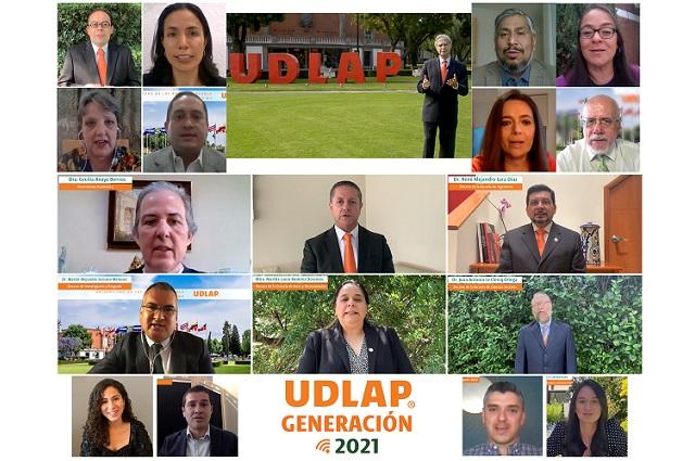 Encabeza rector UDLAP reunión virtual con próximos egresados