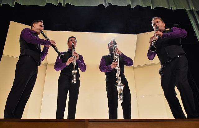 Cuarteto español Barcelona Clarinet Players se presentó en la UDLAP