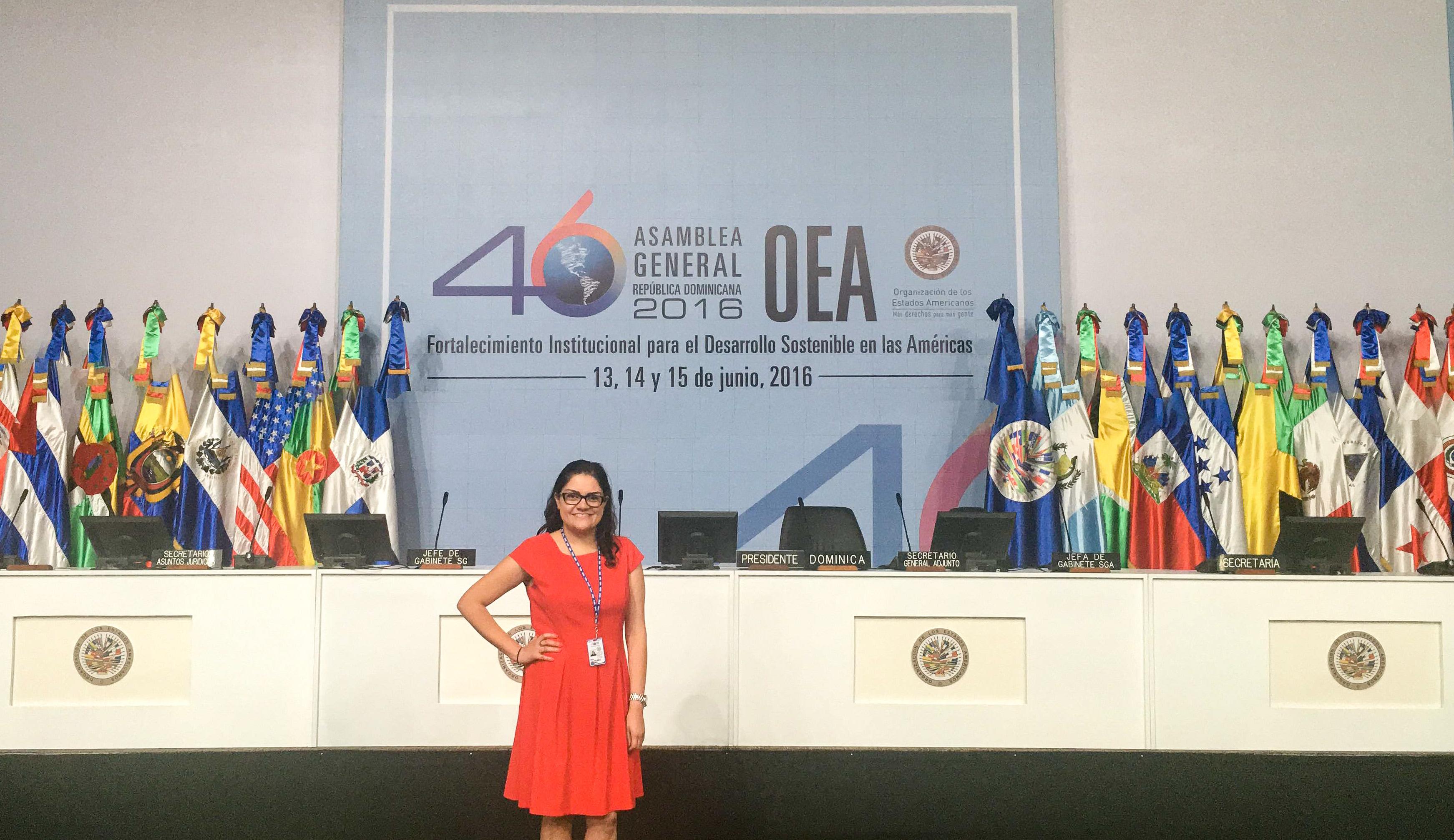 Egresada UDLAP trabaja en el Área de Traducción de la OEA