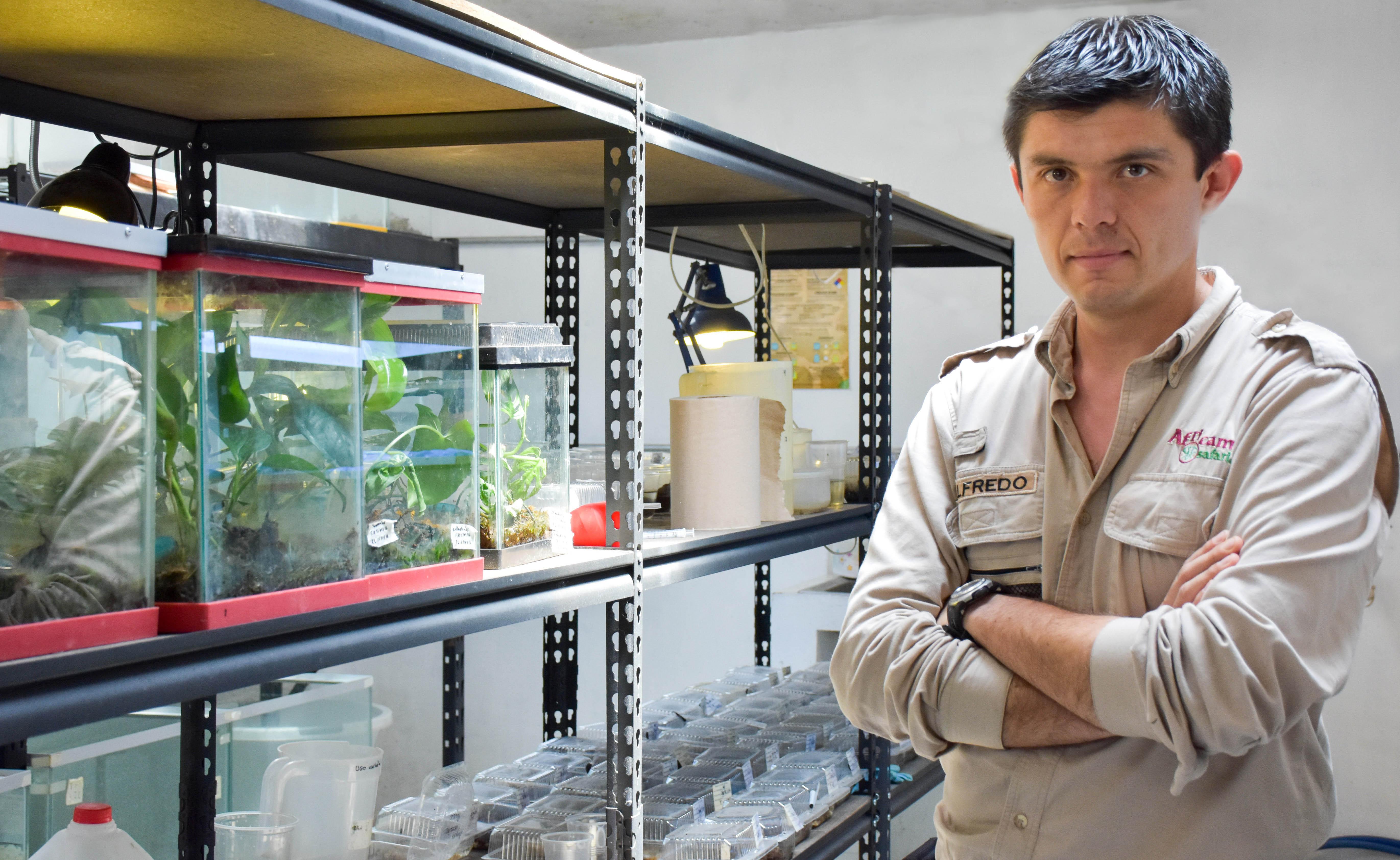 Egresado UDLAP hará laboratorio para especies endémicas de Puebla