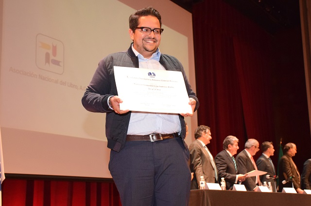 Editorial UDLAP recibe premio al Arte Editorial de la CANIEM