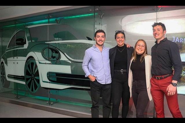 Estudiantes de UDLAP ganaron el VW Challenge de innovación