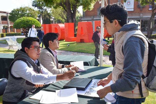 40 organizaciones se reúnen para captar talento UDLAP