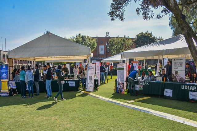 Realizó UDLAP Feria de Servicio Social y Voluntariado Primavera 2018