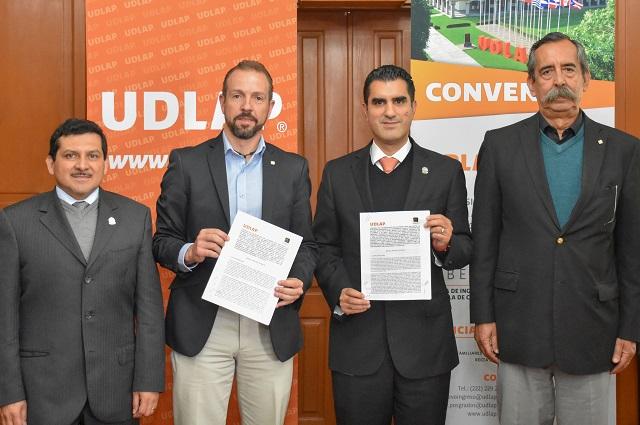 UDLAP apoyará estudios de la Asociación Mexicana del Asfalto