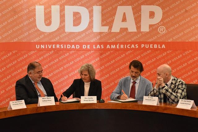 UDLAP y Hospiten México firman acuerdo de intercambio académico