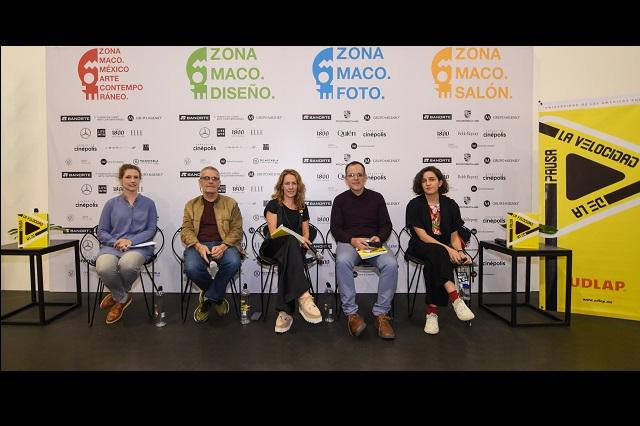 """UDLAP presenta libro """"La velocidad de la pausa"""" en Zona Maco"""