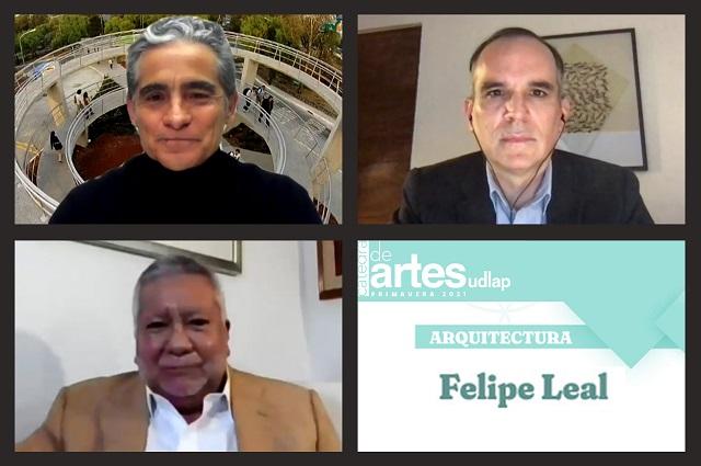 Sobre arquitectura diserta Felipe Leal en Cátedra de Artes UDLAP
