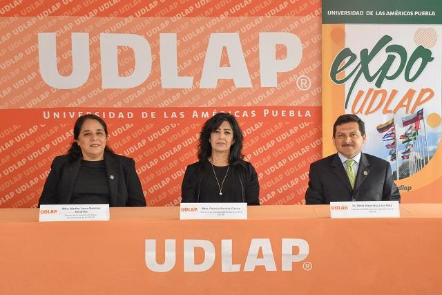 Muestra UDLAP campus y planes de estudio en Expo Primavera 2019