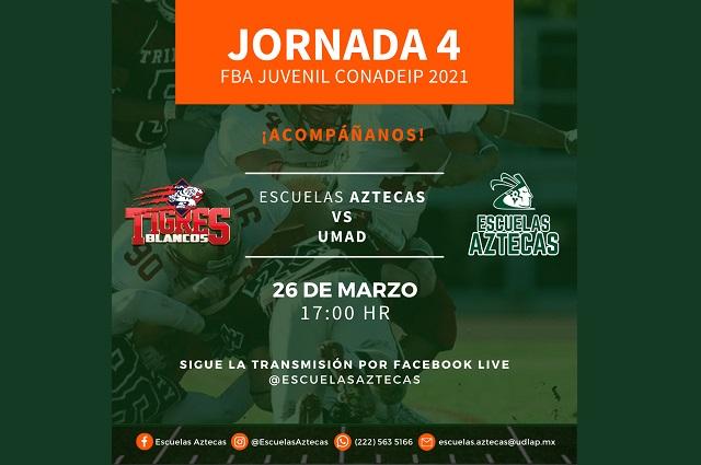 La juvenil Tribu Verde afrontará la jornada 4 del Encuentro Atlético en línea de la CONADEIP