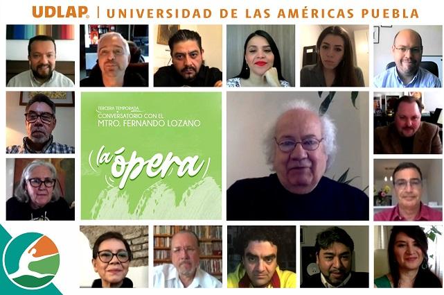 Conversatorios UDLAP reúnen a expertos de la ópera mundial