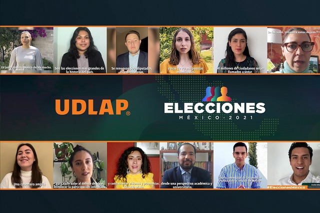 Lanza UDLAP programa académico de cobertura de las elecciones