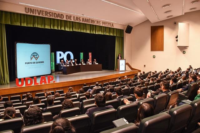 Ponente del FMI inicia congreso de economía en la UDLAP