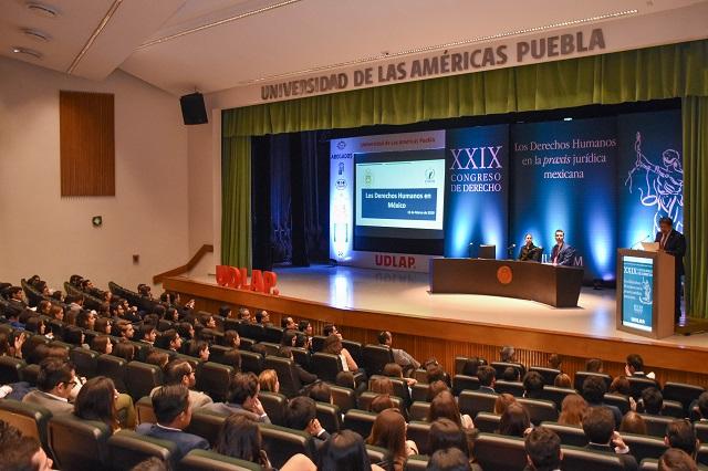 Analizan en UDLAP situación de derechos humanos en México