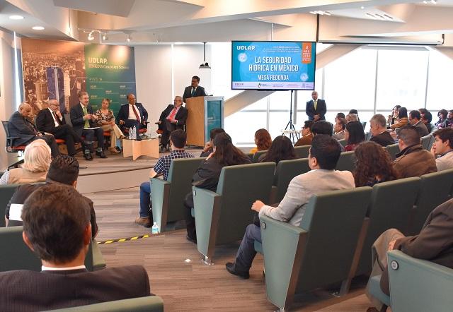 UDLAP organiza mesa de discusión sobre temas hídricos