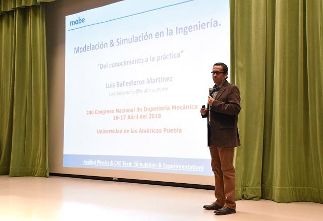 II Congreso Nacional de Ingeniería Mecánica se realiza en la UDLAP