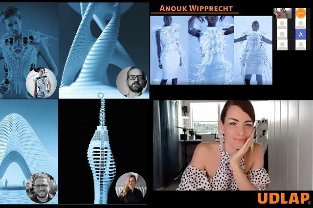 Estudiantes UDLAP se reúnen con la diseñadora holandesa Anouk Wipprecht