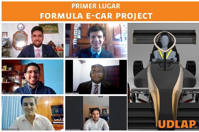 Colabora Udlap en diseño de auto eléctrico que gana concurso
