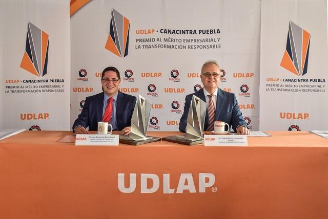 Abren convocatoria para el Premio UDLAP-Canacintra Puebla