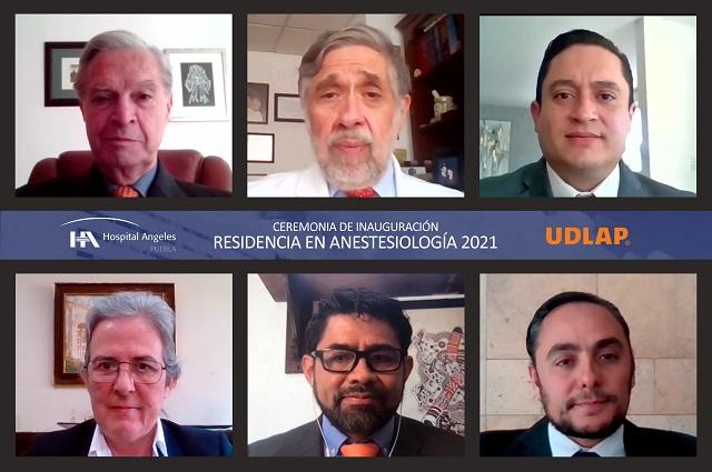 UDLAP y Hospital Ángeles abren residencia en anestesiología