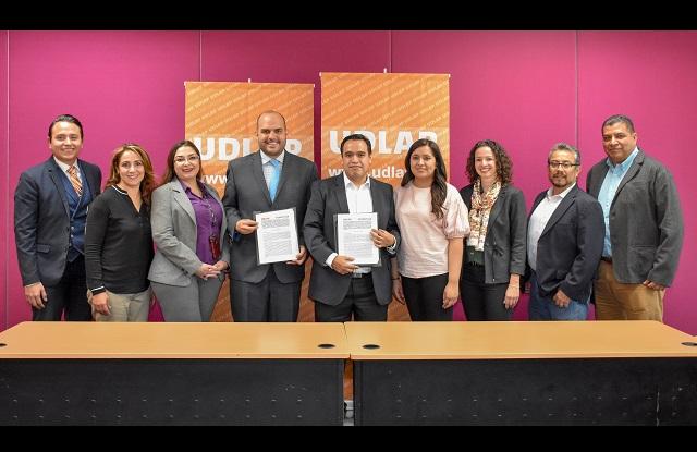 Empleados de Schaeffler de México podrán obtener becas en la UDLAP