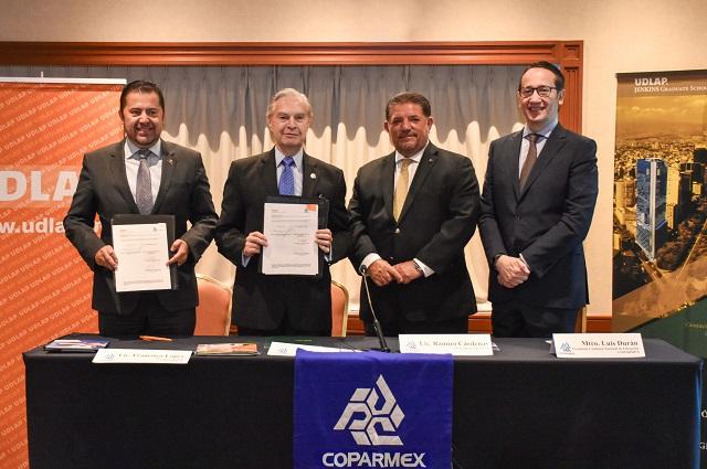Destaca Derbez contribución de la UDLAP con el sector empresarial
