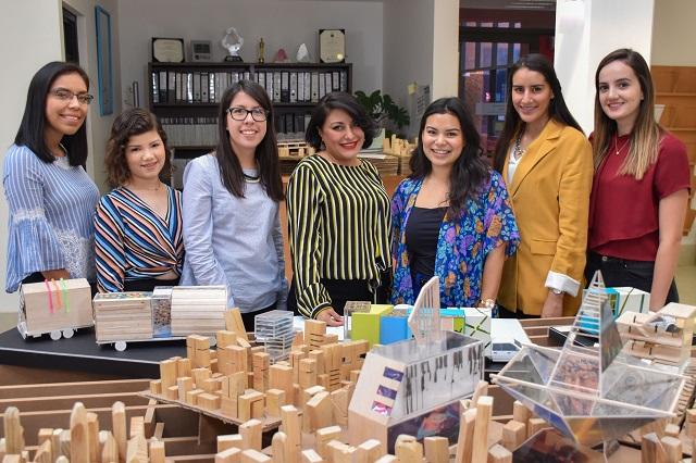 Estudiantes UDLAP presentan proyecto de unidad móvil a AMANC