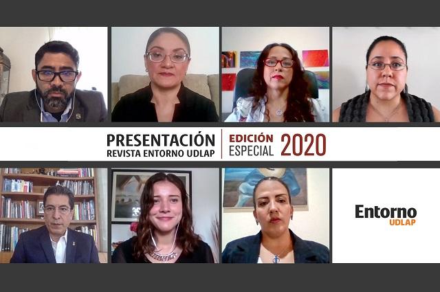 Académicos presentan edición especial de Revista Entorno UDLAP