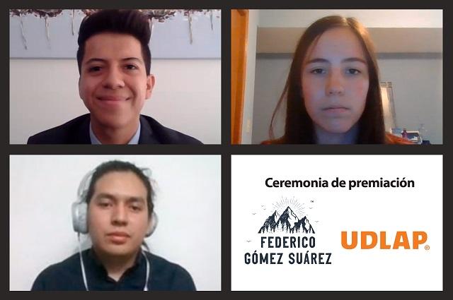 Estudiantes de ingeniería UDLAP obtienen beca Federico Gómez