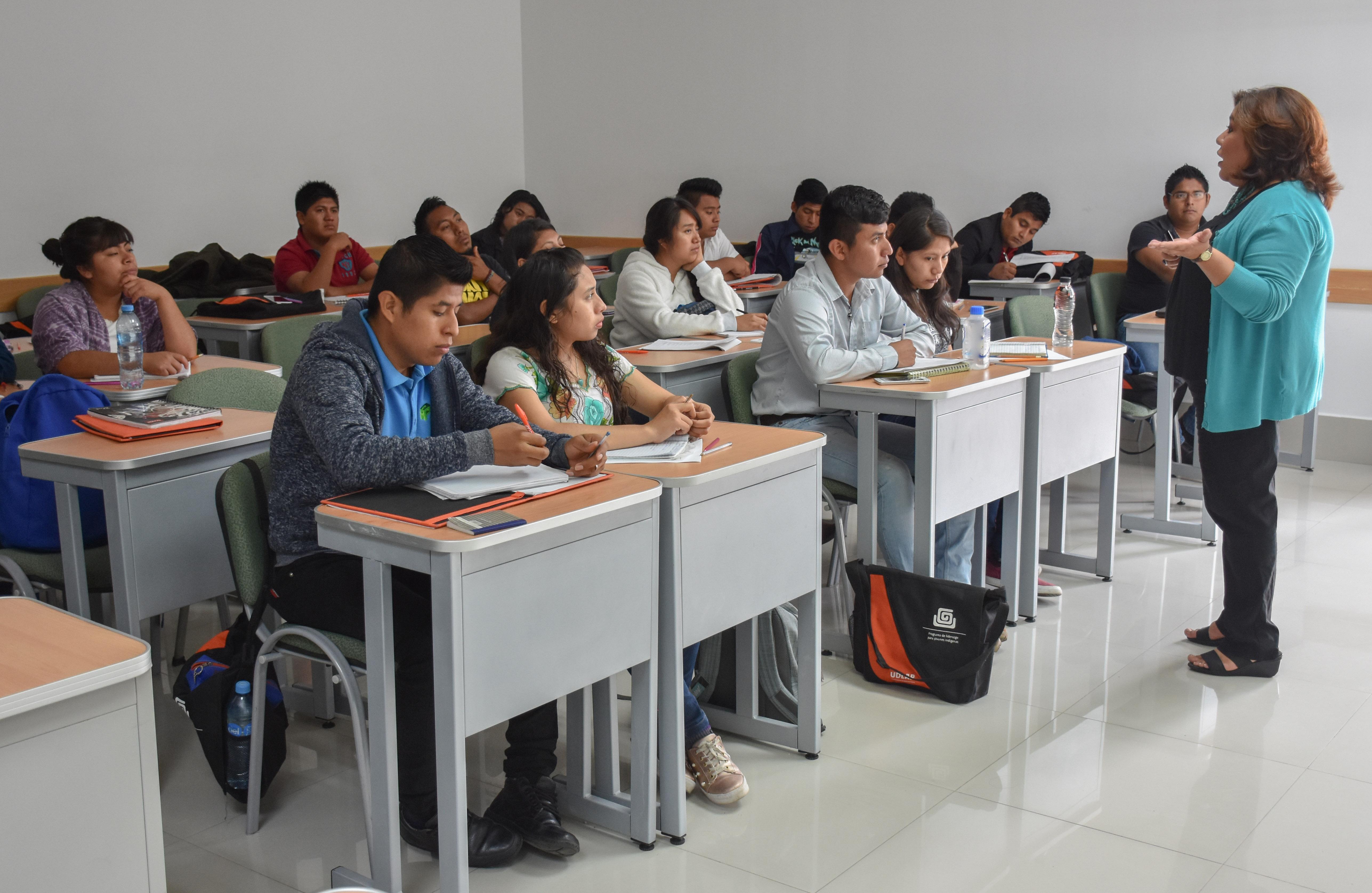 Capacitación de líderes indígenas cumple tercera semana en UDLAP