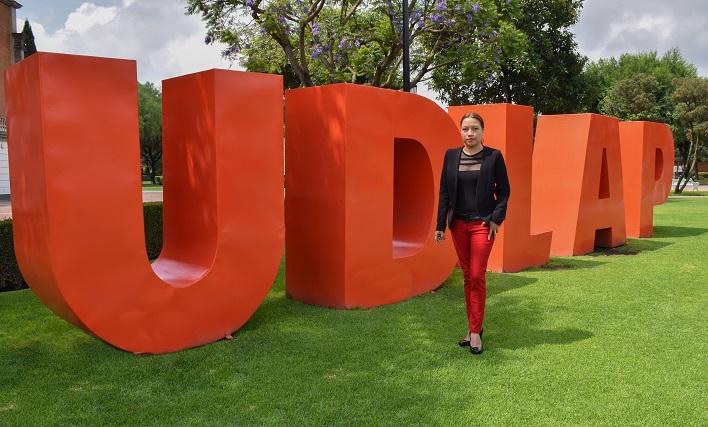 En  IMPI,  egresada UDLAP registra proyecto para fortalecer empresas