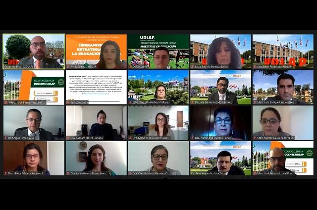 UDLAP da curso a 600 docentes para la educación en línea