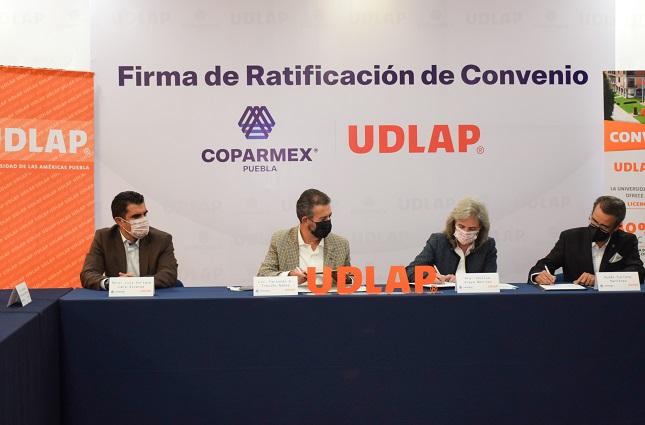 Respalda Coparmex rectoría de Cecilia Anaya en la UDLAP