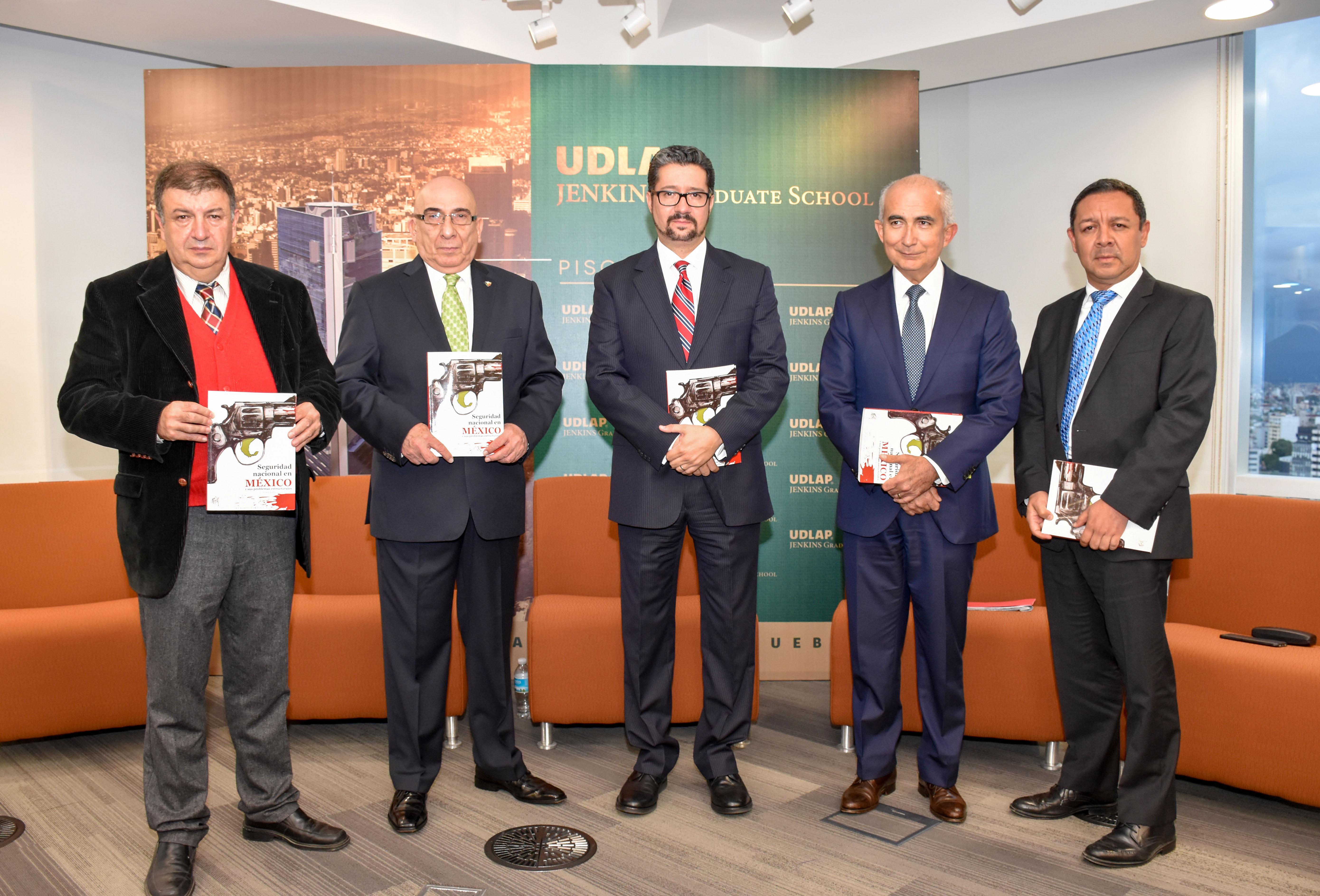 UDLAP publica libro sobre seguridad nacional en México