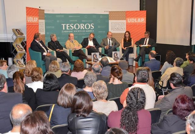 Presenta UDLAP catálogo de Expo Tesoros de la Hispanic Society of America