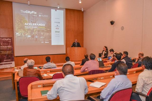 En UDLAP, taller de mecanismos de financiamiento TheCityFix Labs México