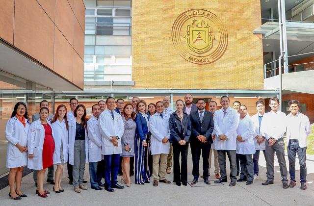 Secretaria de Salud recorre áreas de enseñanza médica de UDLAP