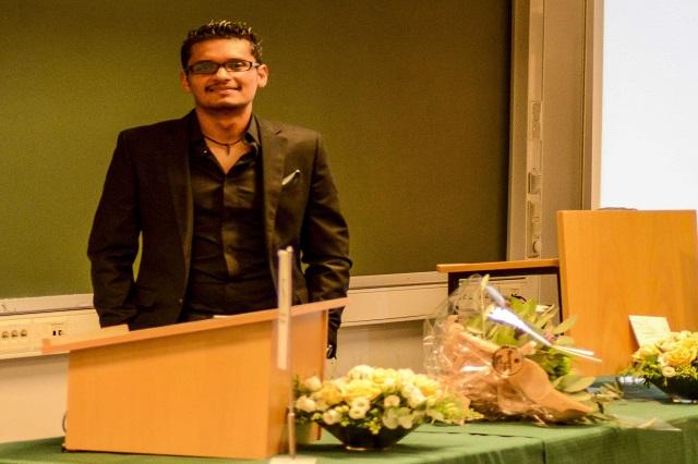 Egresado UDLAP presenta investigación en encuentro mundial