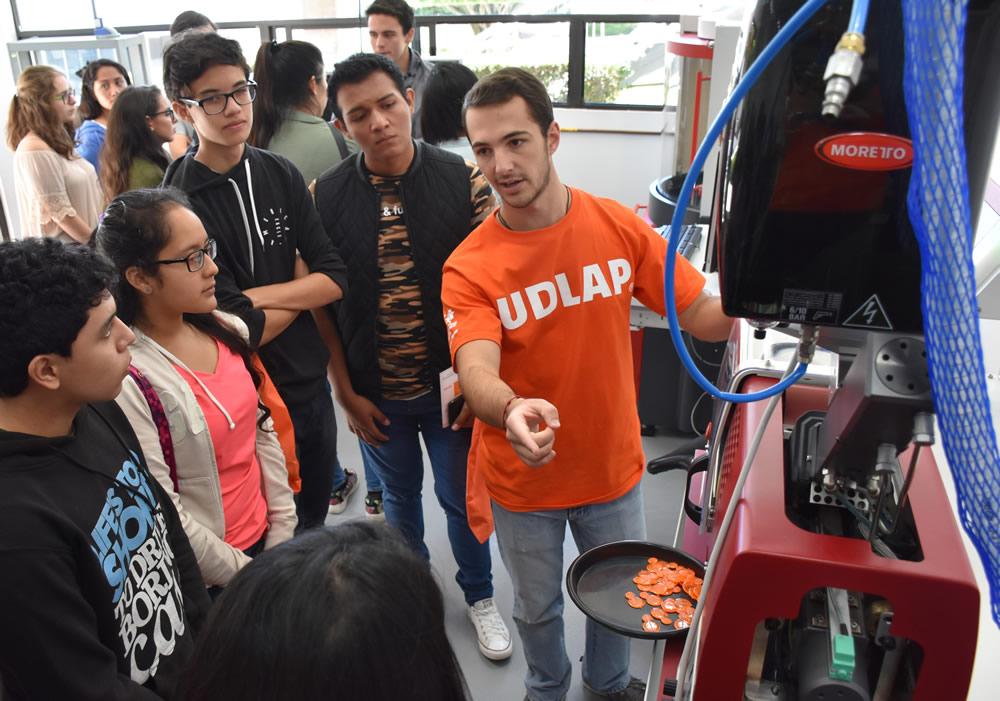 Jóvenes y familias constatan excelencia académica de UDLAP